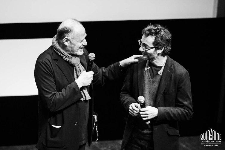 Edouard Waintrop et Raphaël Nadjari © Quinzaine des Réalisateurs / Guillaume Lutz