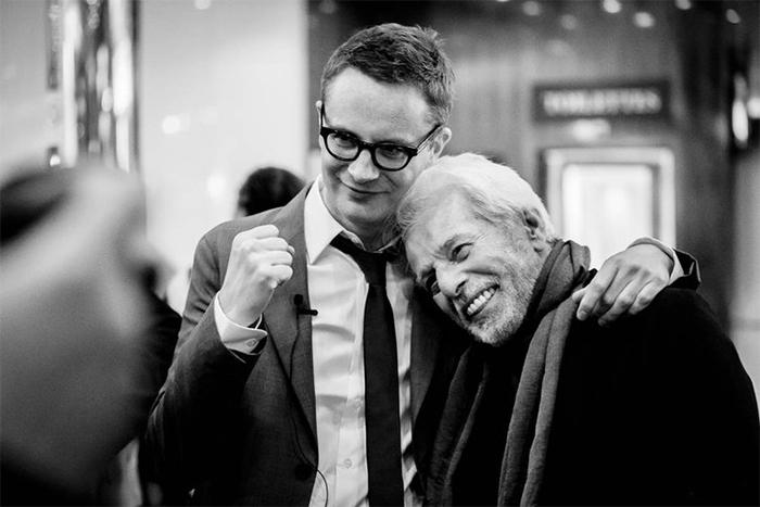 Nicolas Winding Refn et Alejandro Jodorowsky © Quinzaine des Réalisateurs / Guillaume Lutz