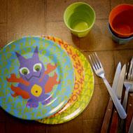 Interview SMS de Leila Bekhti : vaisselle enfant, repas © Annick Holtz