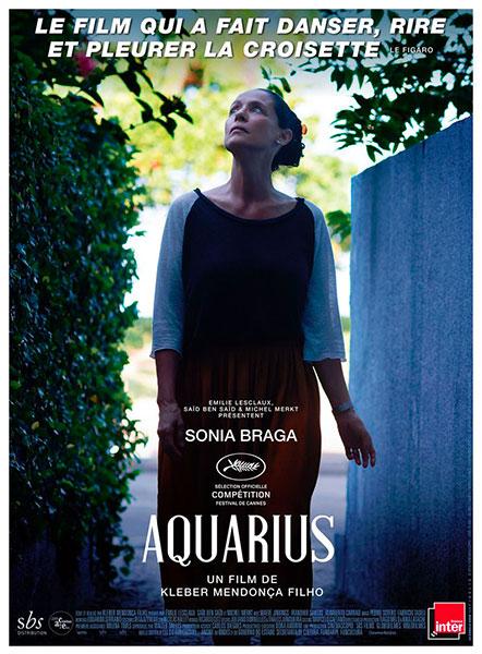 Affiche du film Aquarius de Kleber Mendonça Filho