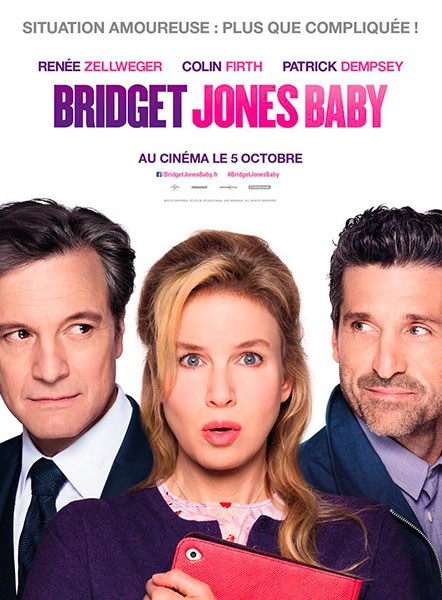 Affiche du film Bridget Jones's Baby de Sharon Maguire