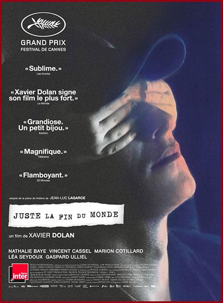 Sortie du 21 septembre : Juste la fin du Monde de Xavier Dolan