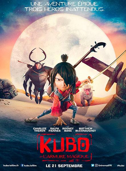Sortie du 21 septembre : Kubo et l'armure magique de Travis Knight