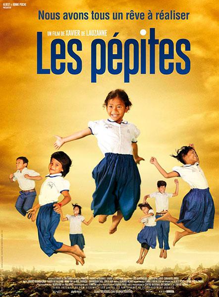 Affiche du documentaire Les pépites réalisé par Xavier de Lauzanne