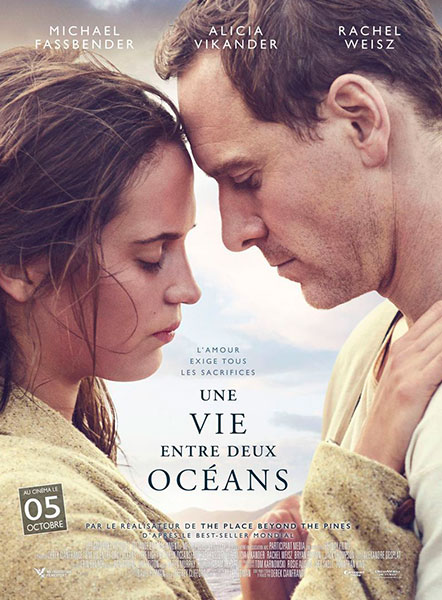 Affiche du film Une vie entre deux océans de Derek Cianfrance