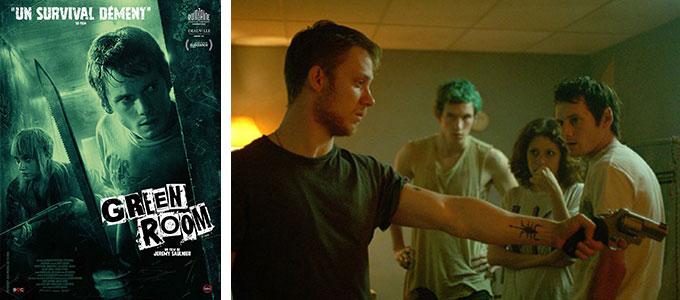 Sortie DVD du mois de septembre 2016 : Green Room de Jeremy Saulnier.