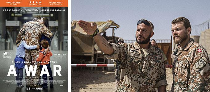 Sortie DVD du mois d'octobre 2016 : A War de Tobias Lindholm