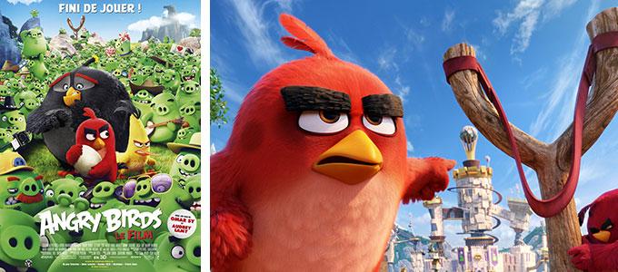 Sortie DVD du mois d'octobre 2016 : Angry Birds de Clay Kaytis et Fergal Reilly.