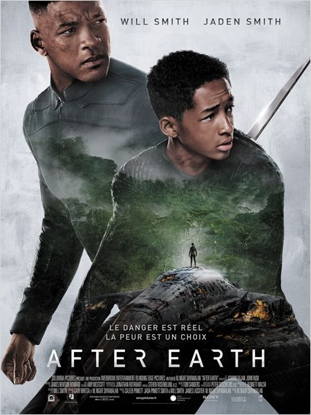 After Earth de M. Night Shyamalan. avec Jaden Smith et Will Smith