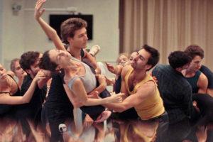 Relève : l'histoire d'une création de Thierry Demaizière et Alban Teurlai avec Benjamin Millepied, ballet de l'Opéra de Paris