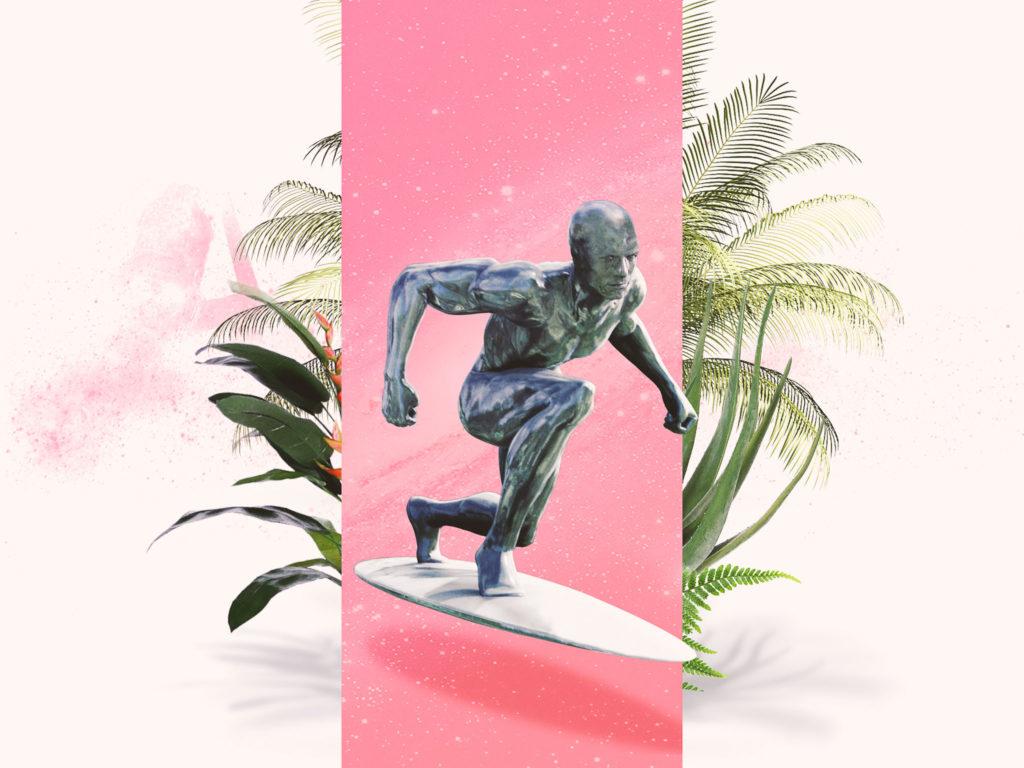 La Brice attitude : Style de Norrin Radd (Le Surfeur d'Argent) Les 4 Fantastiques