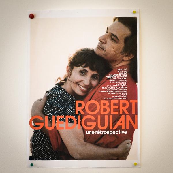 Dans le bureau de Robert Guédiguian : marius et jeannette © Yann Vidal.