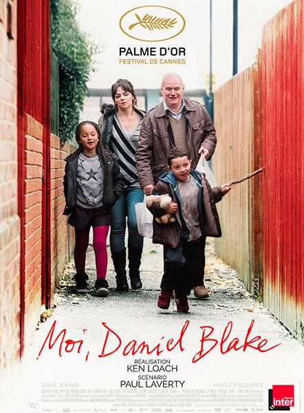 Affiche de Moi, Daniel Blake de Ken Loach.