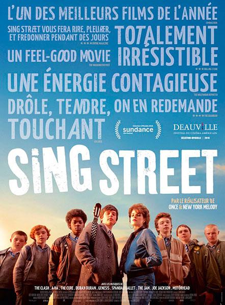 Affiche de Sing Street de John Carvey.