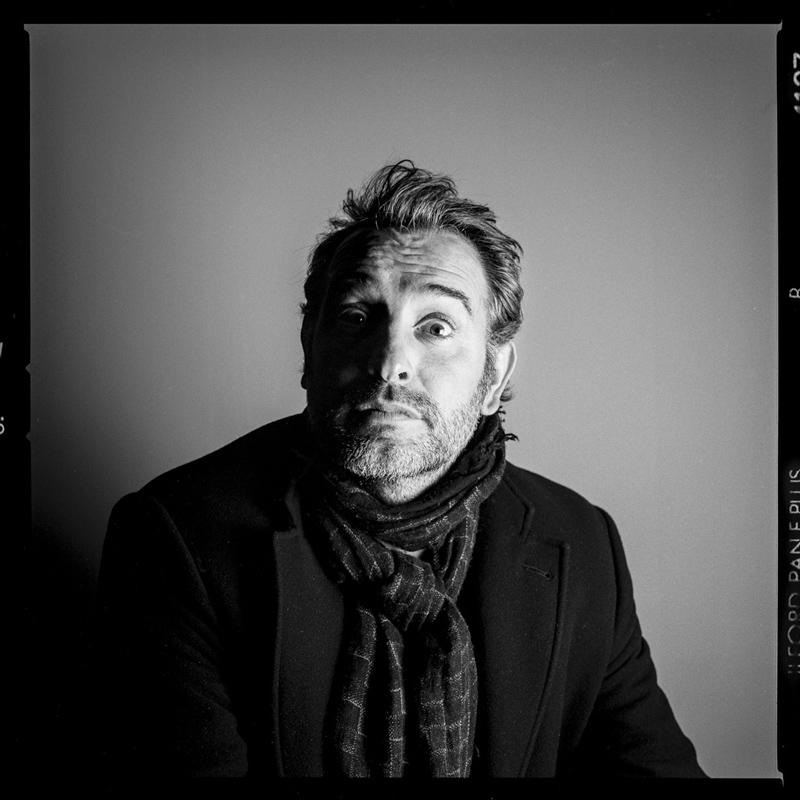 La séance photo sonore de Jean Dujardin, acteur © Pascal Bastien