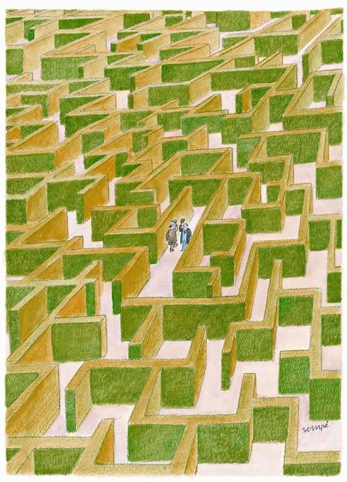 Conversation avec Michel Gondry : le labyrinthe de Sempé