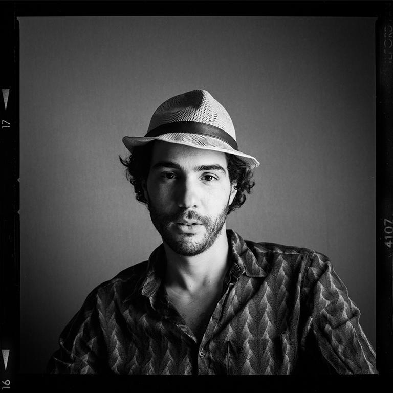 La séance photo sonore de Tahar Rahim, acteur © Pascal Bastien