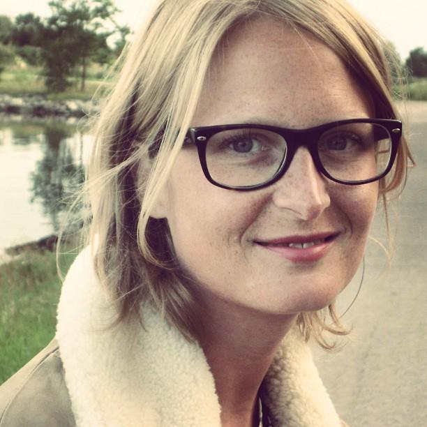 Anna Novion, réalisatrice de Redndez-vous à Kiruna avec Jean-Pierre Darroussin.