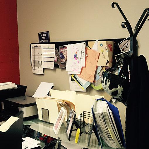 Inside the Asylum : visite des bureaux de la direction.