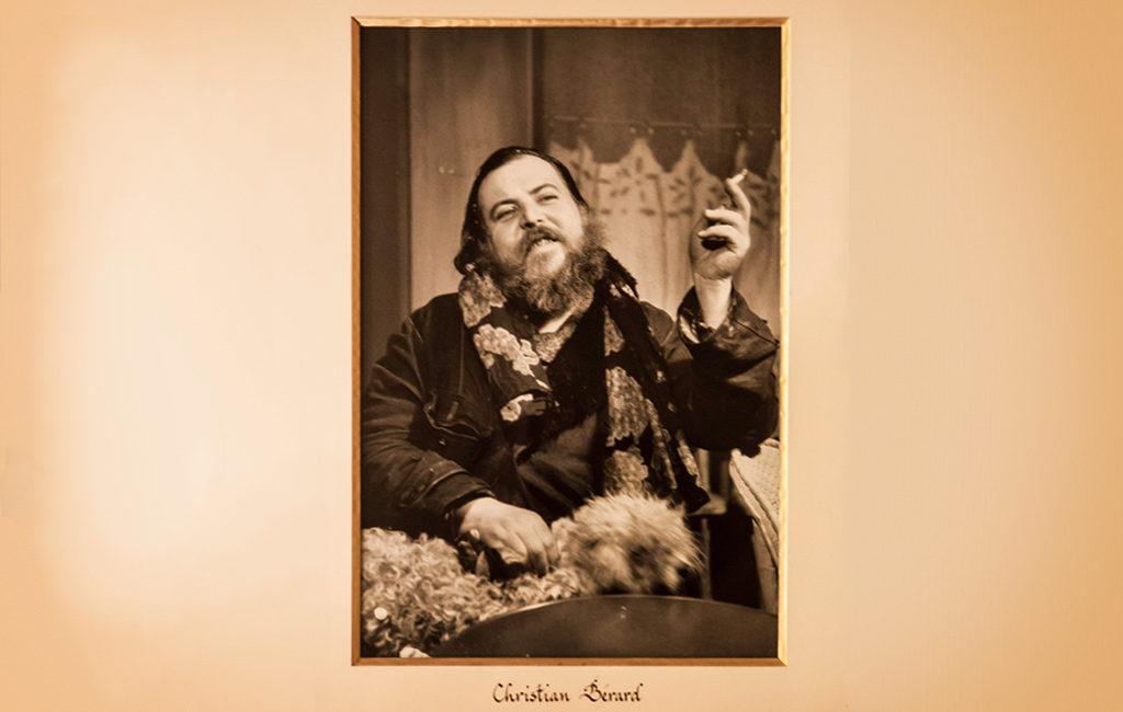 Dans la loge d'Edouard Baer : Christian Bérard, décorateur de théâtre © Mathieu Menossi.