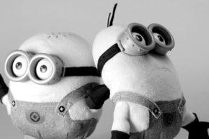 La séance photo sonore des Minions, créatures, serviteurs © Annick Holtz