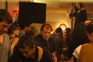 Sur le tournage du film Les Gazelles.