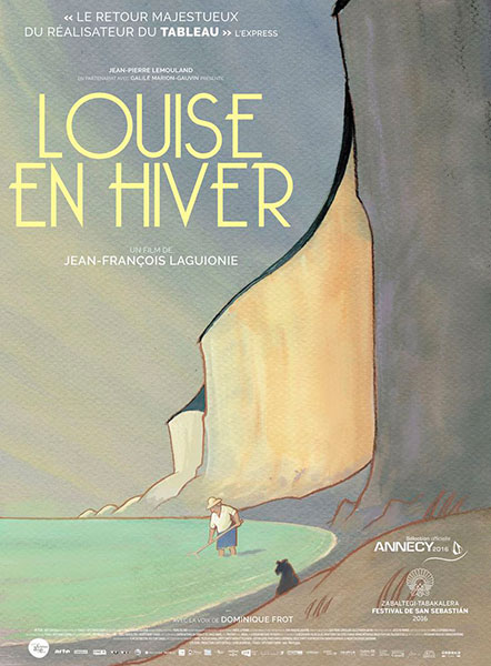 Affiche de Louise en hiver réalisé par Jean-François Laguionie