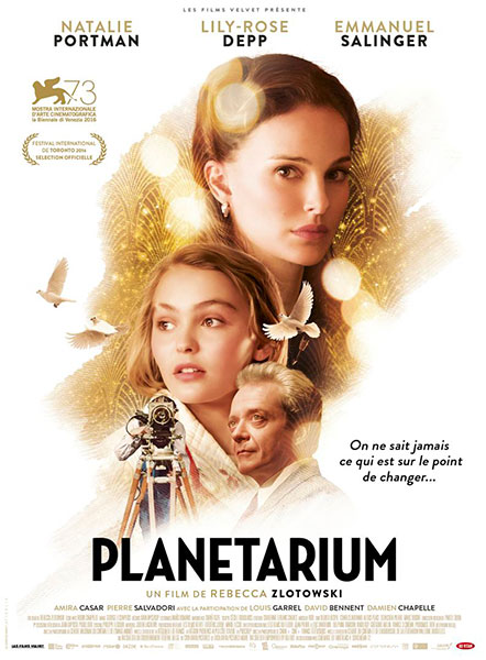 Affiche de Planétarium de Rebecca Zlotowski