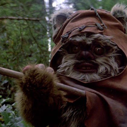 doudou film star wars ewok
