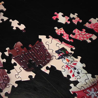 Gustave Kervern sms puzzle noel cupcake