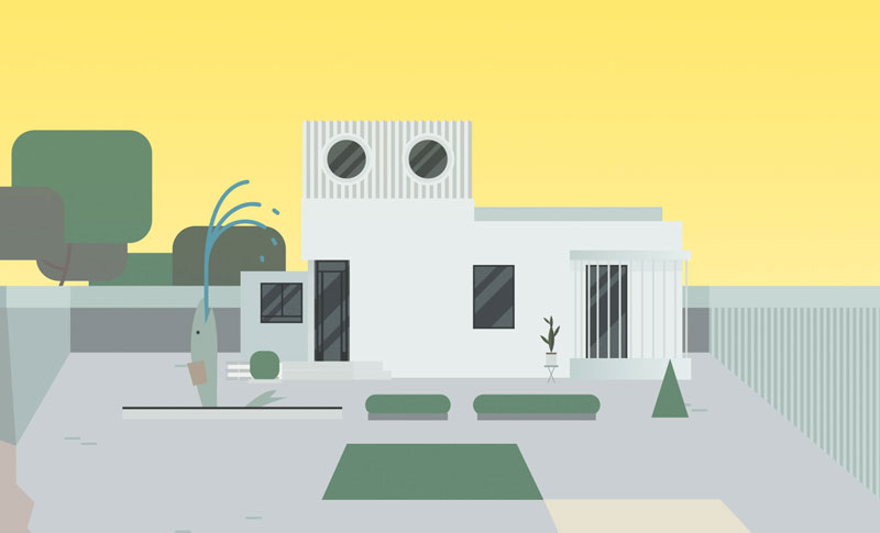 La maison futuriste de mon oncle jacques tati
