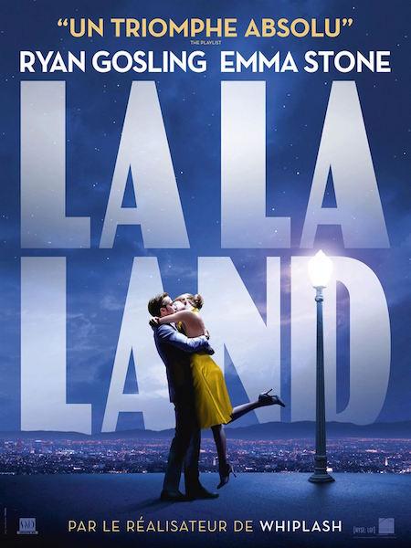 magazine de cinéma - La La Land de Damien Chazelle affiche - BANDE A PART