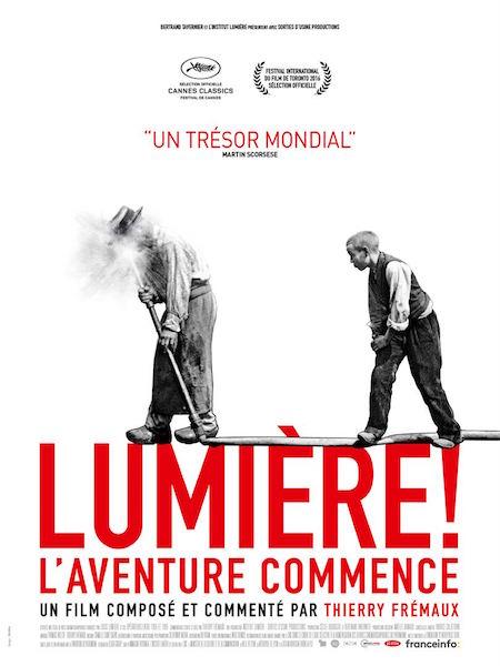 magazine cinéma Lumière ! L'aventure commence de Thierry Frémaux affiche
