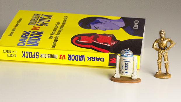 Dark Vador VS Monsieur Spock livre Dunod - figurine Star Wars
