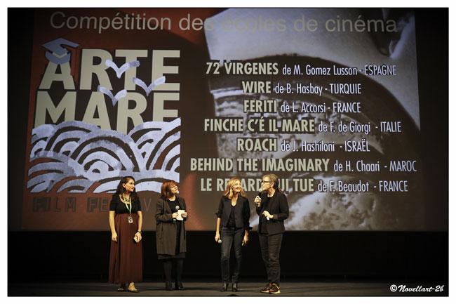 Magazine de cinéma - Festival Arte Mare - 35ème édition - Photo de Novellart2B