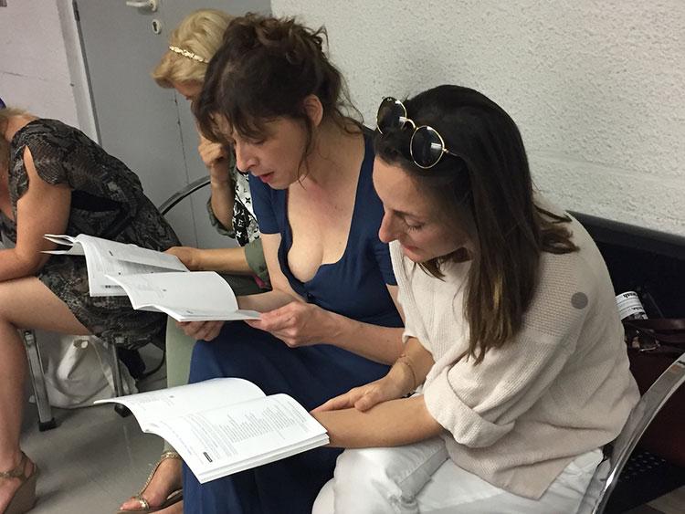 Raphaële Moussafir et Camille Chamoux, Quinzaine en actions 2018