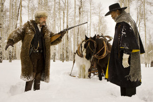 Les Huit 8 Salopards The Hateful Eight Quentin Tarantino Kurt Russell Samuel L. Jackson Western Morricone FIlm Scène