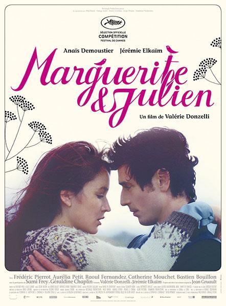 Affiche Film Marguerite et Julien Valérie Donzelli Anaïs Demoustier Jérémie Elkaïm