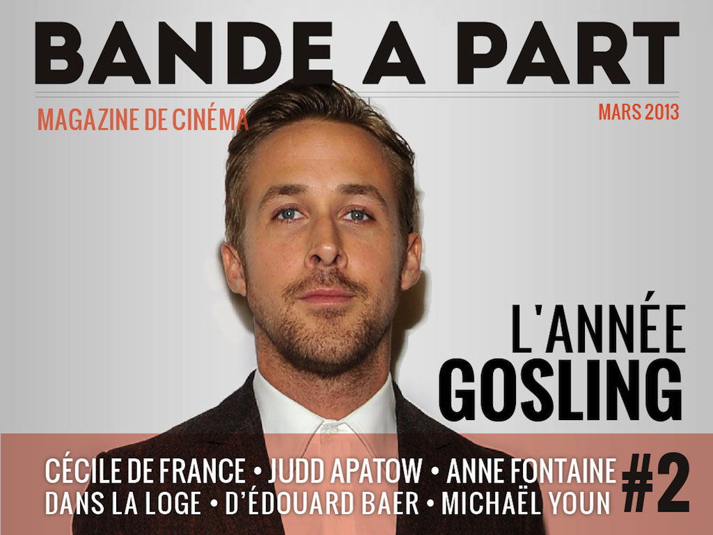 couverture BANDE A PART 02 ryan gosling