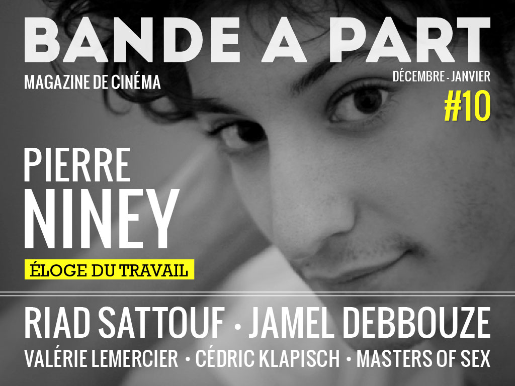 couverture BANDE A PART 10 pierre niney riad sattouf jamel debbouze