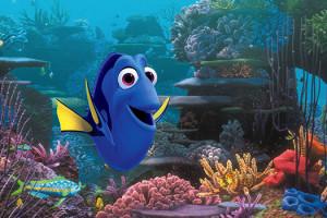 Le Monde de Dory Disney Pixar Ellen DeGeneres Monde Némo Dessin-animé Scène