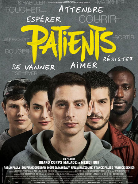 magazine cinéma - Patients - Grand Corps Malade, Mehdi Idir