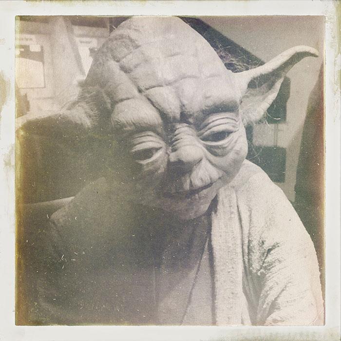 Image mythe Star Wars 03 yoda instagram selfie
