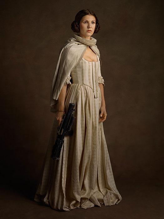 Image mythe Star Wars 12 leia princesse fraise