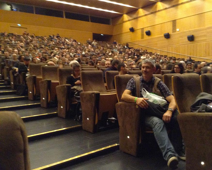 Utopiales 2015 - images 06 salle de conferences