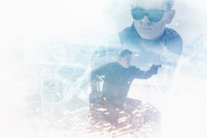 Couverture BANDE A PART 29 007 Spectre James Bond Daniel Craig Film Scène Espionnage