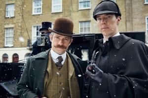 Série Sherlock Holmes Watson Benedict Cumberbatch Martin Freeman Special