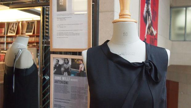 Anne Willi robes noires Antonioni aux origines du popCinémathèque française mode