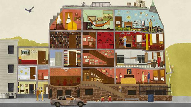 Graphisme et cinéma : les illustrations de Maxim Dalton