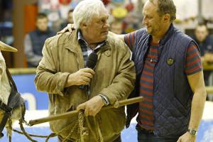 Gérard Depardieu et Benoît Poelvoorde dans Saint Amour